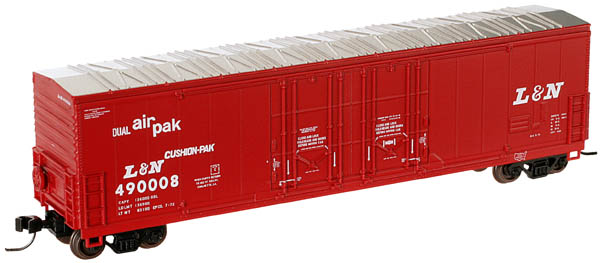 Freight Cars N Scale Atlas 31251 Mountain Pine Lumber #100 Evans Double Plug Door Box Car With A Long Standing Reputation