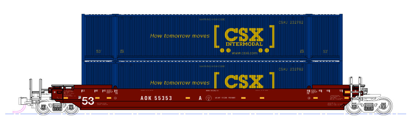 251780265857 besides Trainfest 2012 Show Report further 4244977893 as well N Freight Cars also Kat 309044. on kato intermodal