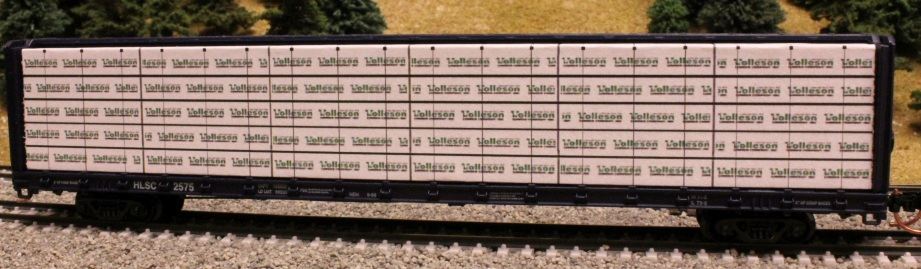 2x4 2x8 And 4x4 Lumber Load N Scale